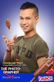 Niccolo Cosme for Nestle Crunch Ice Cream