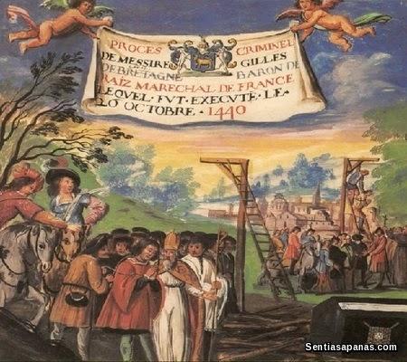 Execution of Gilles de Rais