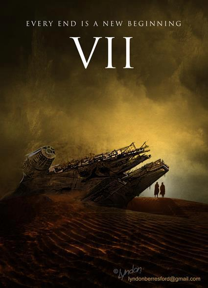 Star Wars VII Movie Poster