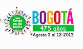 Bogota y sus 475 años