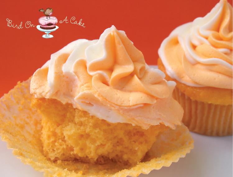 Bird On A Cake: Orange Creamsicle Cupcakes