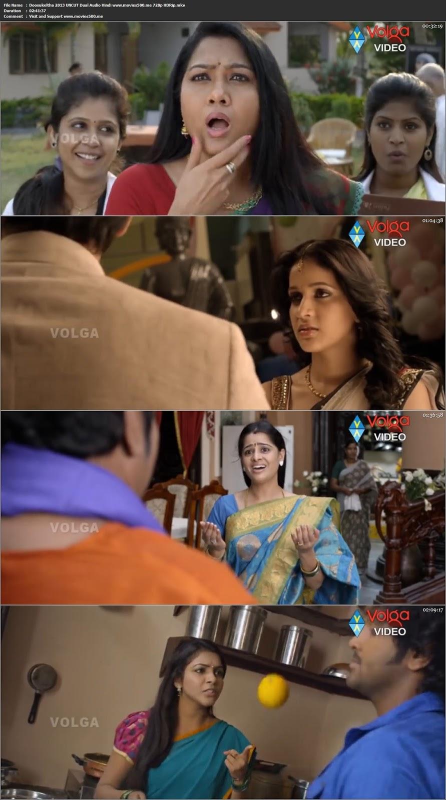 Doosukeltha 2013 UNCUT Dual Audio Hindi HDRip 720p at freedomcopy.com