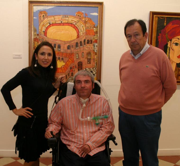 RAQUEL CANTERO, LUIS REINA Y PACO MÉLENDEZ
