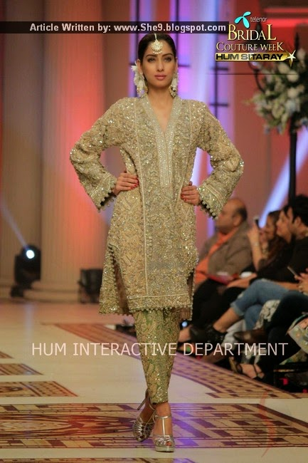 Bridal Wear Collection at TBCW-2014-2015