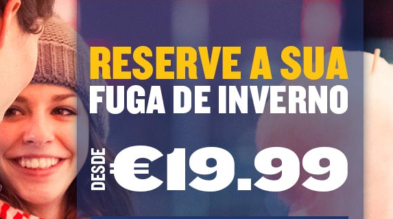 Tarifas low cost no Inverno