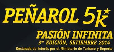 5k Club atlético Peñarol (Canteras del parque Rodó, 27/sep/2014)