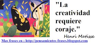 frases de Henri Matisse