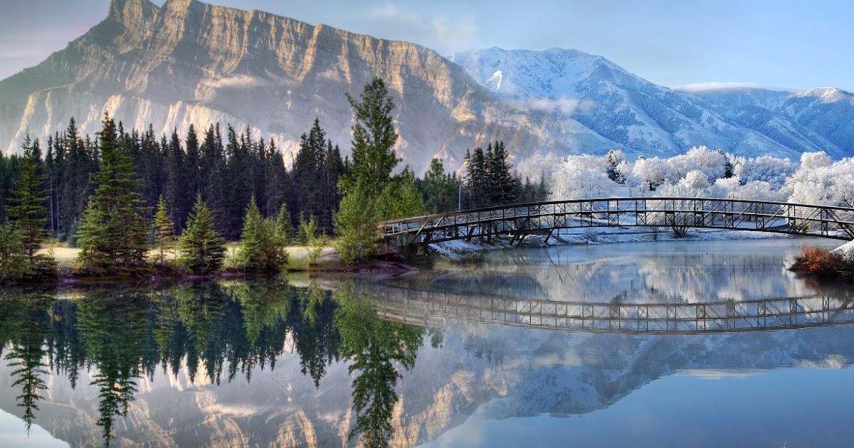 Winter season mountains screensaver - Mountain screensavers free ...