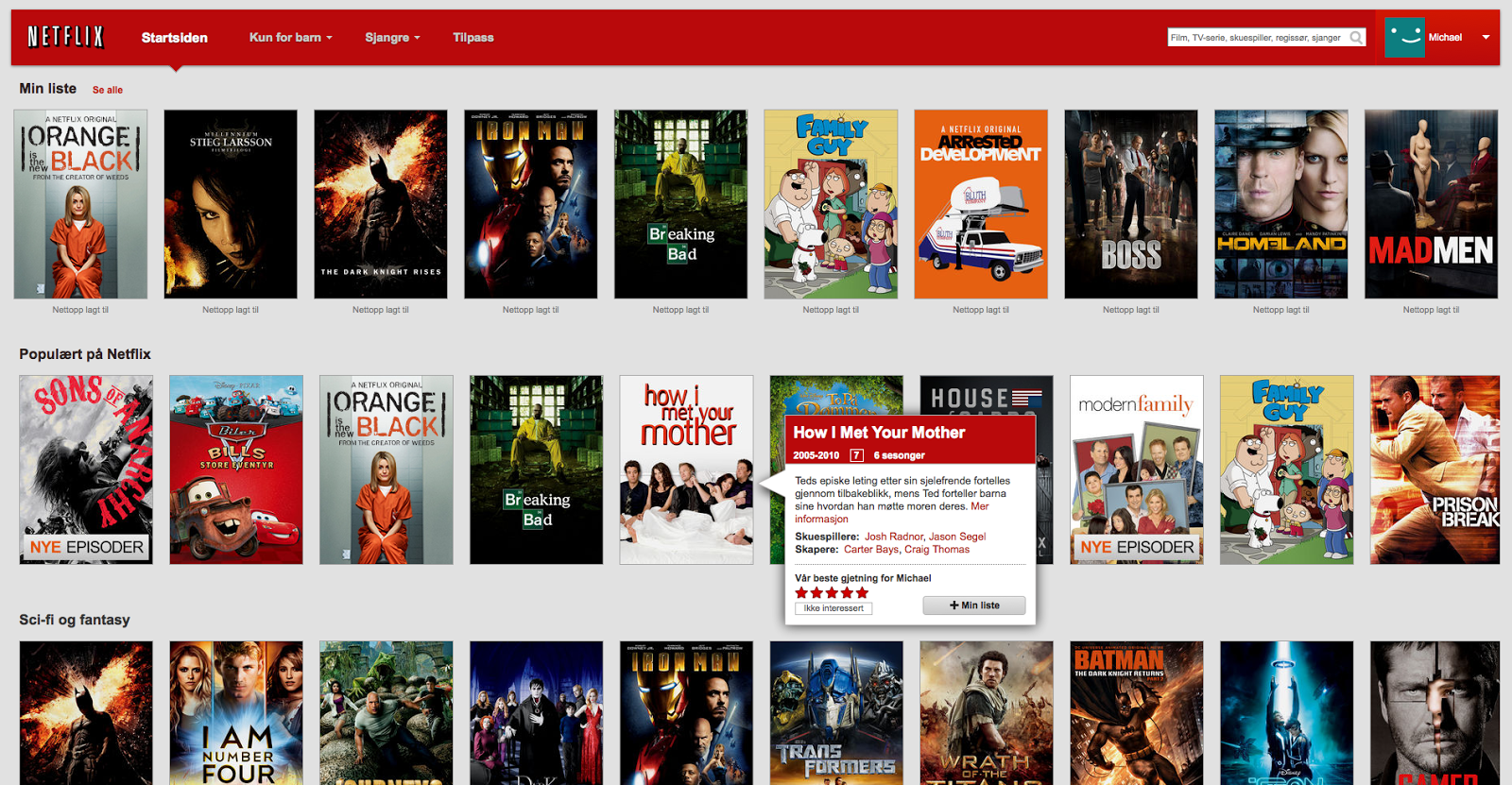 netflix how to clear my list