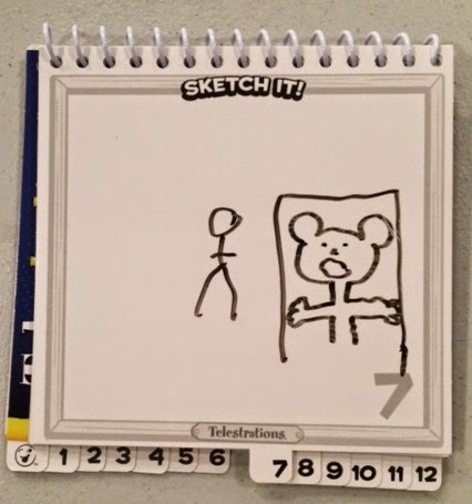 Example of Telestrations drawing