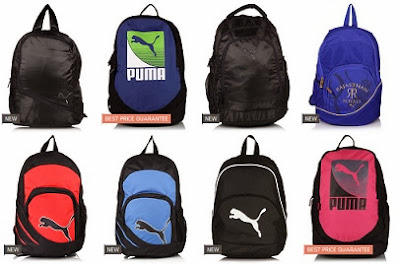 GOSF Price: Flat 36% or 40% Extra Off on Puma Backpacks at Jabong (Price Starts from Rs.384)