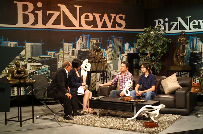 Biz News Interview with Sculptors Kylo chua and Seb Chua