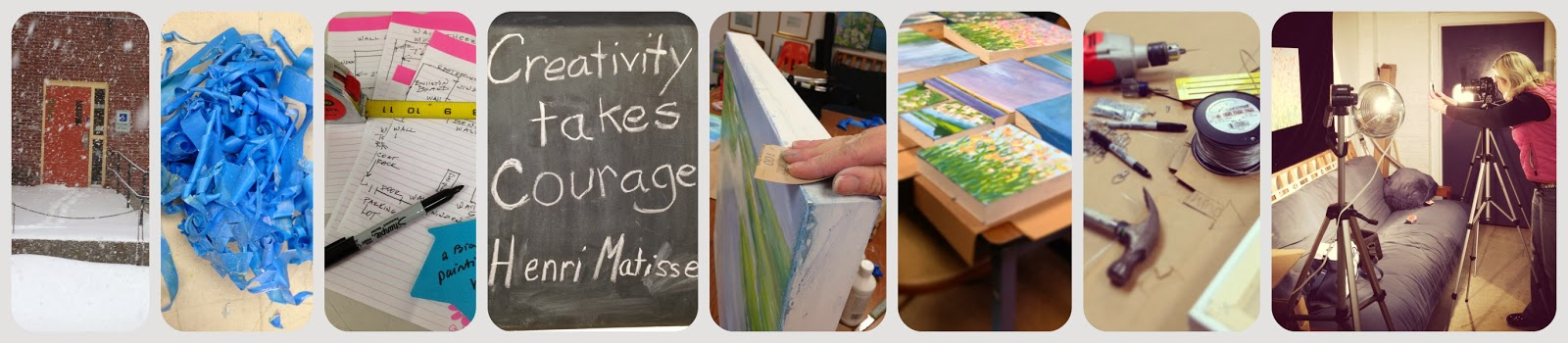 steps to prepare paintings for hanging in a show