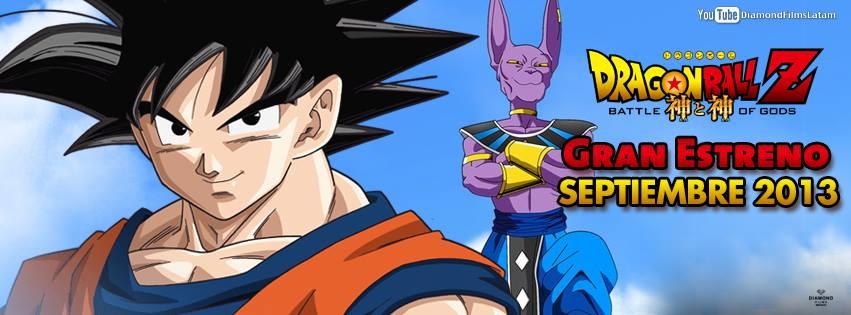 !Dragon Ball Z: Battle of Gods llegara oficialmente a America Latina! Estreno+dragon+ball