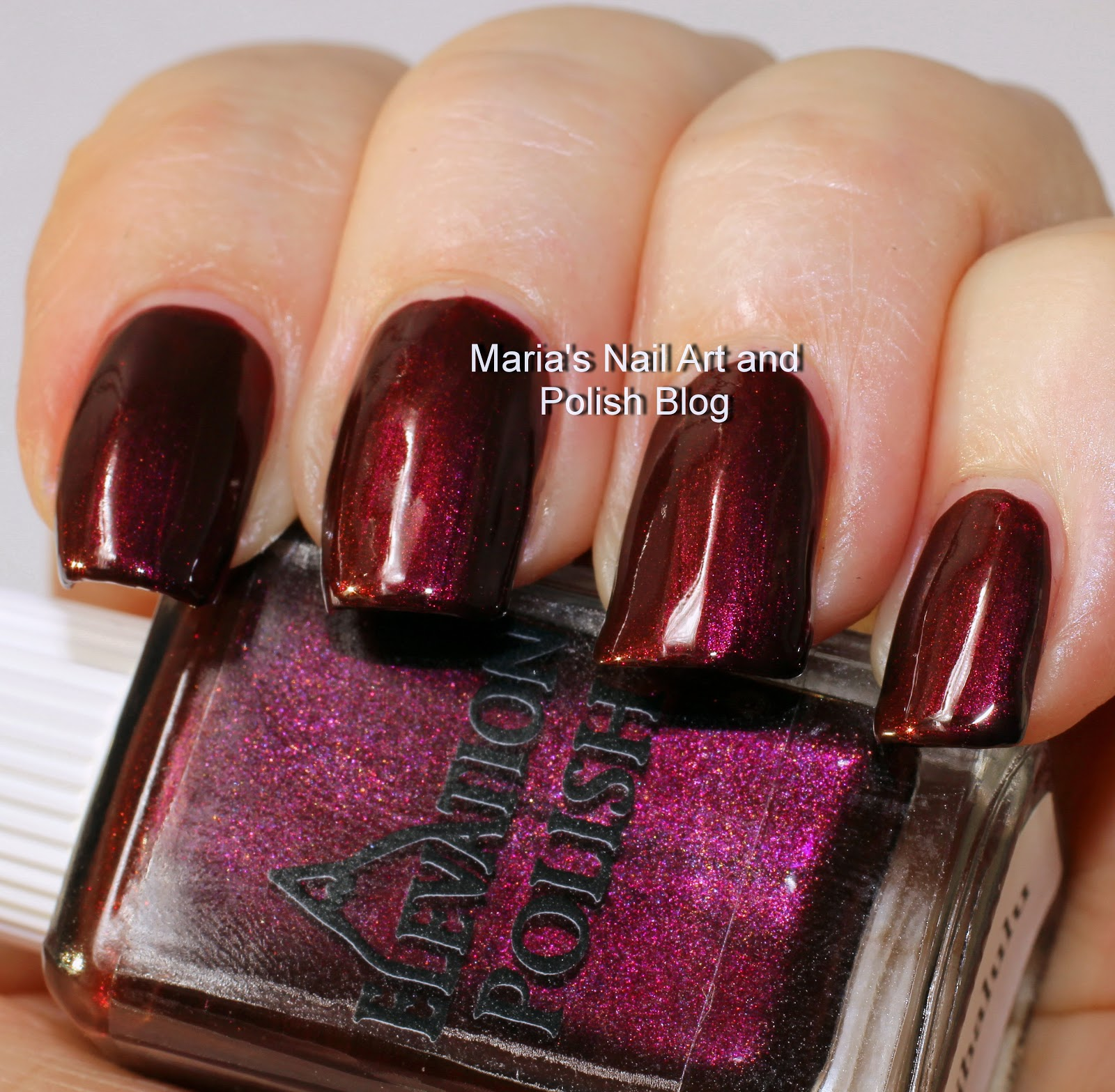 Marias Nail Art And Polish Blog Flushed With Stripes And: Marias Nail Art And Polish Blog: Elevation Polish Purple