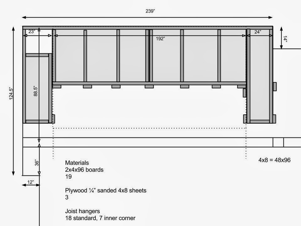 Semrau Family Projects Garage Storage