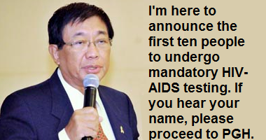 mandatory aids testing In completing the hiv antibody testing requisition in confidential testing settings, is using a name now mandatory yes could a physician continue to order an hiv test using a numbered code and then assume the responsibility of reporting.
