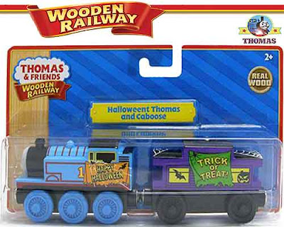 Thomas and friends toy Halloween Caboose wooden railway set magnificent boys gift for trick or treat