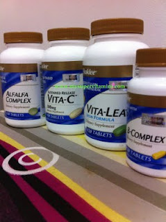 BF: vitamin shaklee set b breastfeeding / penyusuan
