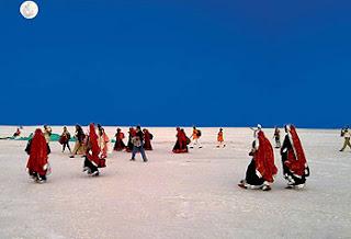 white desert in rann utsav