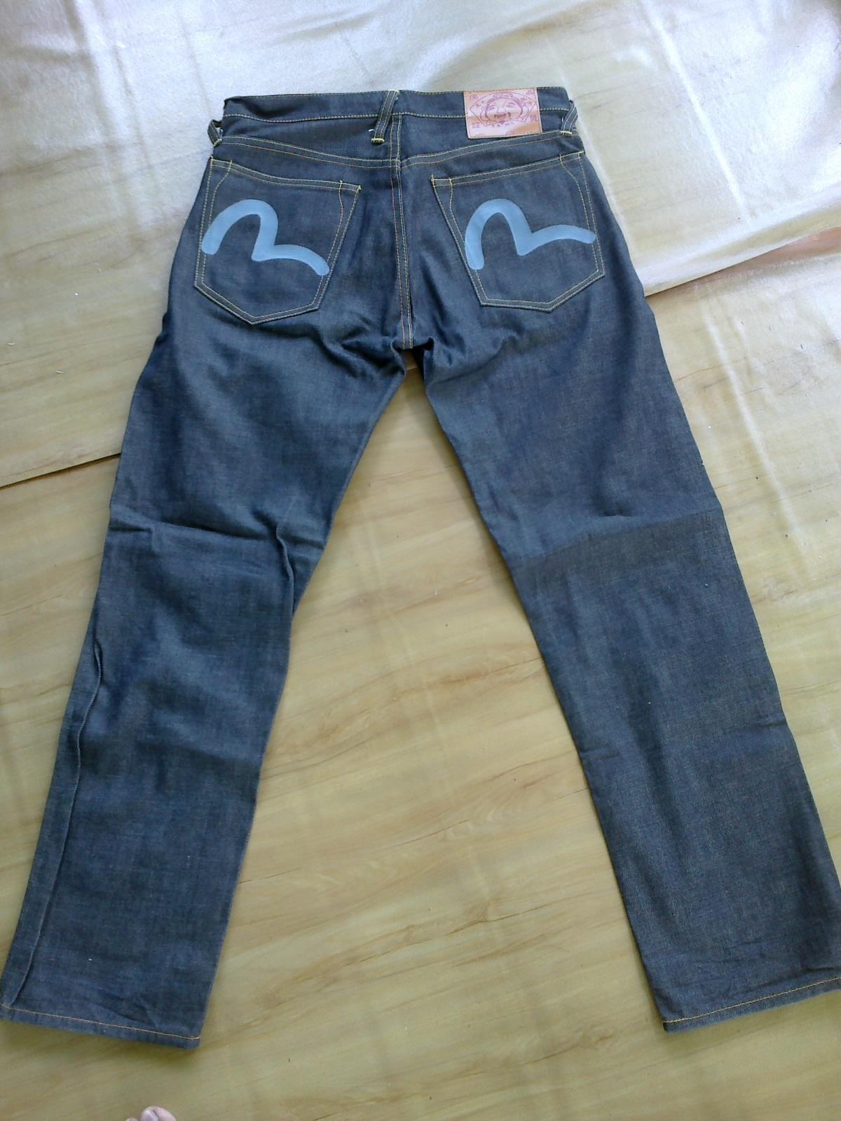 Bundle Selamanya Andrew Smith Regular Fit Jeans Biru 31 Evisu Jeanssold
