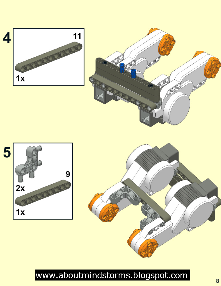 lego mindstorms building instructions