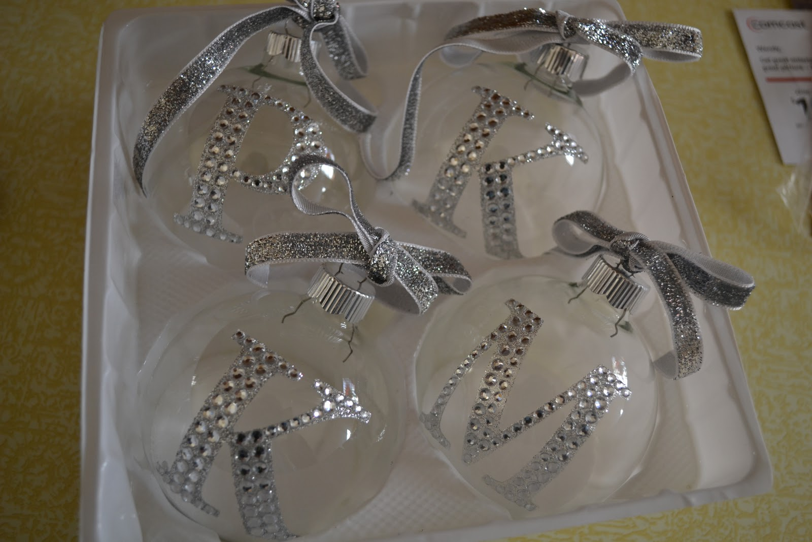 Hobby lobby glass ornaments - I Found Everything I Needed To Make These At Hobby Lobby And It Really Was Simple
