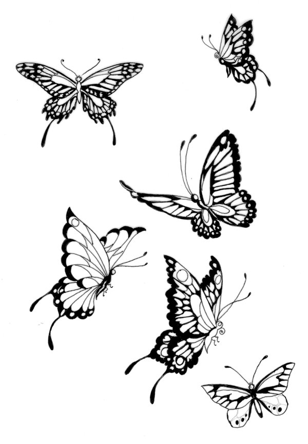 greatest tattoos designs butterfly tattoos for women