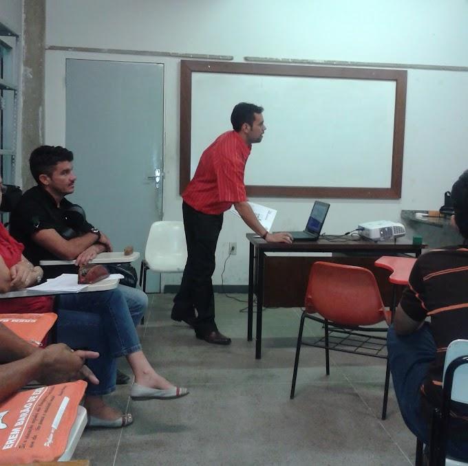Mais um dia de seminário no Curso de Especialização da Urca