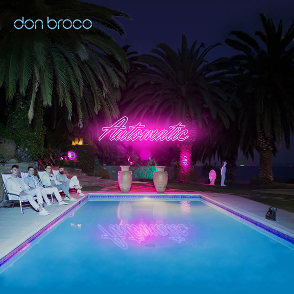 Album cover artwork for Don Broco's 'Automatic'