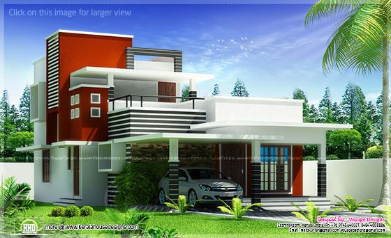 Modern contemporary villa