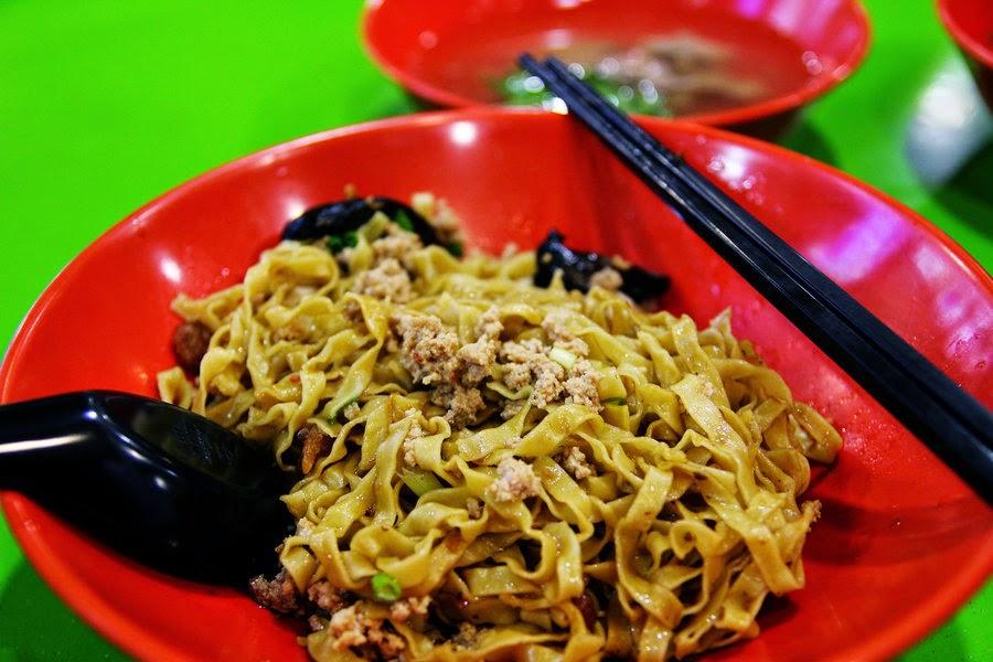 Dry Minced Pork Noodles