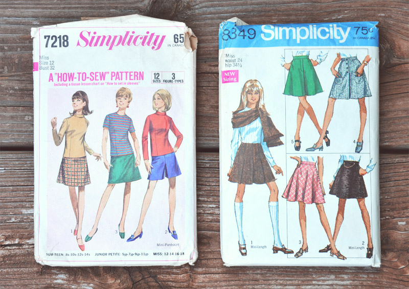 The Flying Clubhouse: Vintage Goodies - Simplicity 60s Patterns