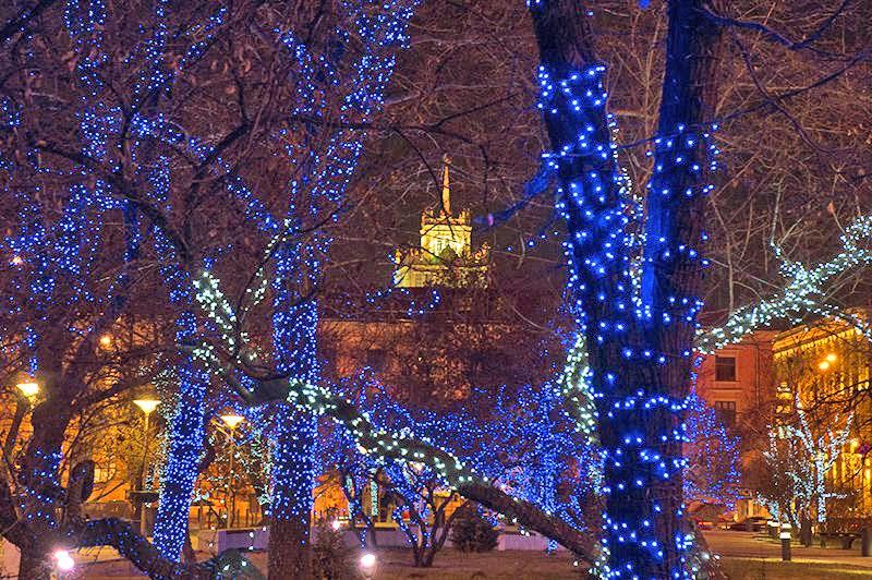 Moskau bereitet sich auf Neujahrsfest und Weihnachten vor | Gerrys Blog