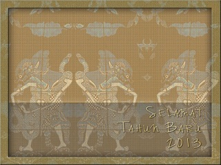 kartu selamat ucapan tahun baru
