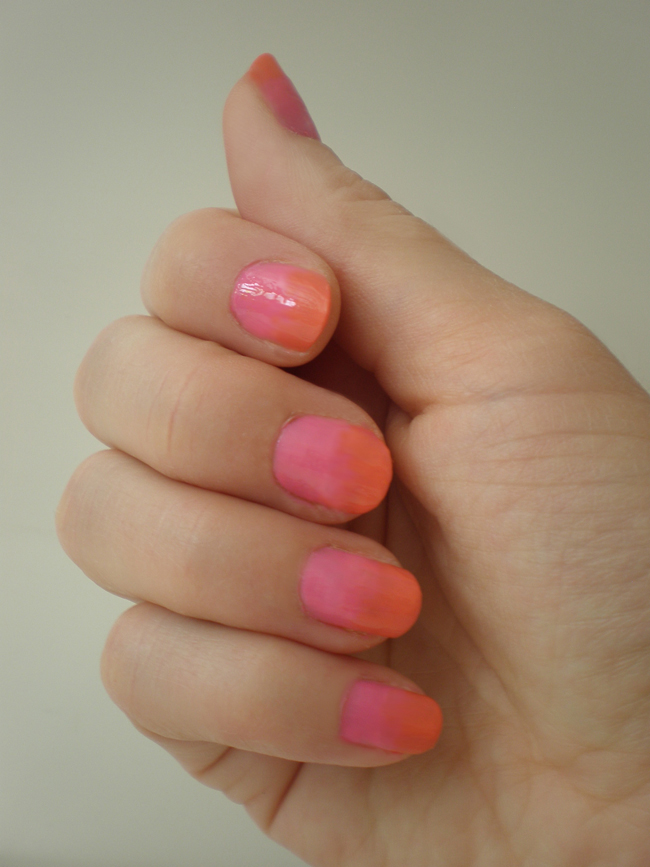 nail art: ombrè nails tutorial