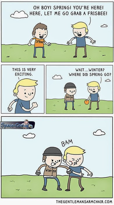 funny winter comics humor