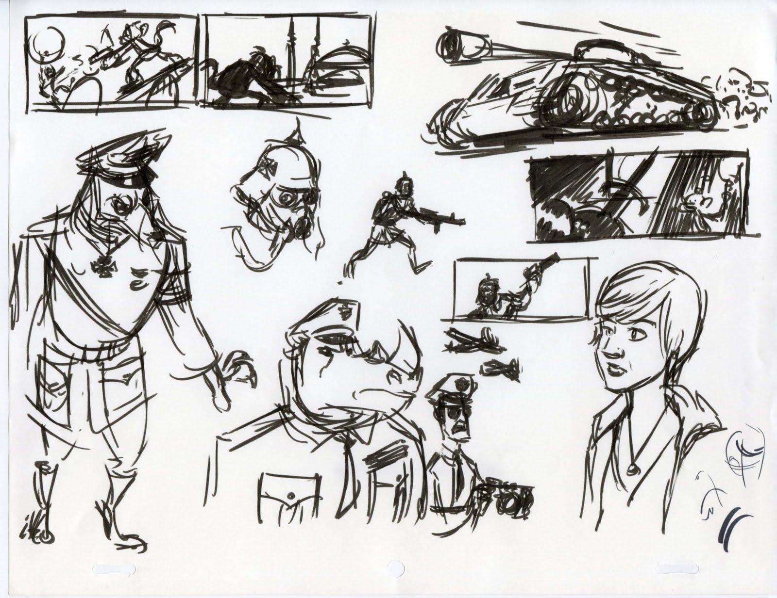 scotland u0027s art blog of monkeys and legioniaries sketches