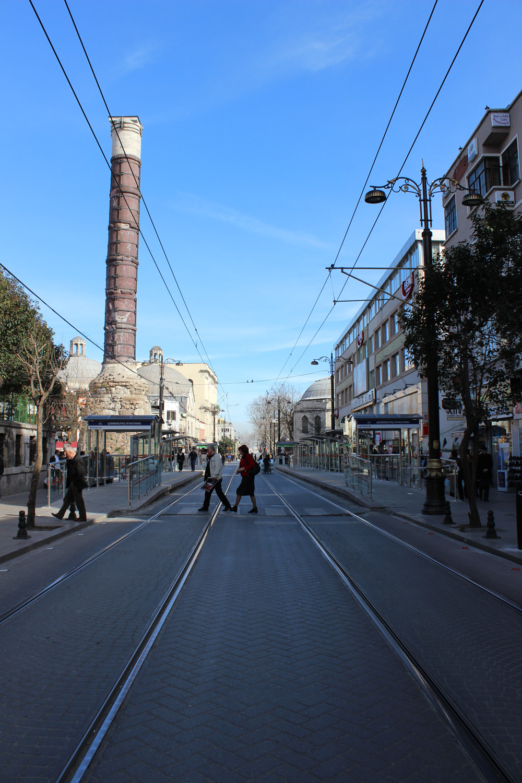Çemberlitaş tramvay durağı