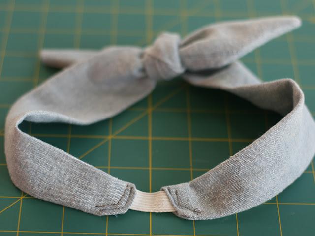 DIY: Vintage Style Bowtie Headband