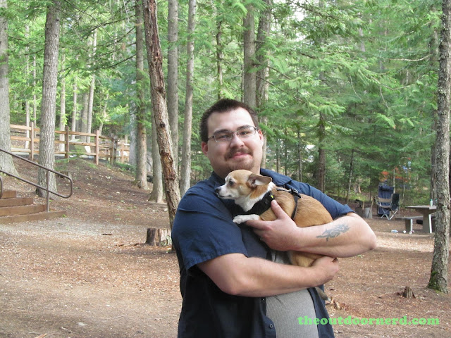 Outlet Campgrounds At Priest Lake, Idaho: Big Man, Little Dog 1