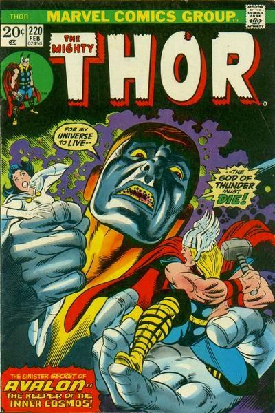 Thor #220, Avalon
