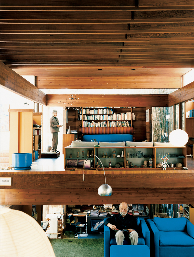 moon to moon  the home of   architect ray kappe