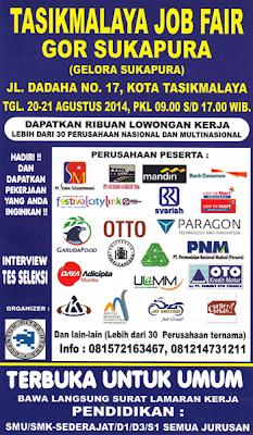 Bursa Lowongan Kerja Tasikmalaya Job Fair
