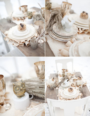 bodas de invierno decoracion en blanco