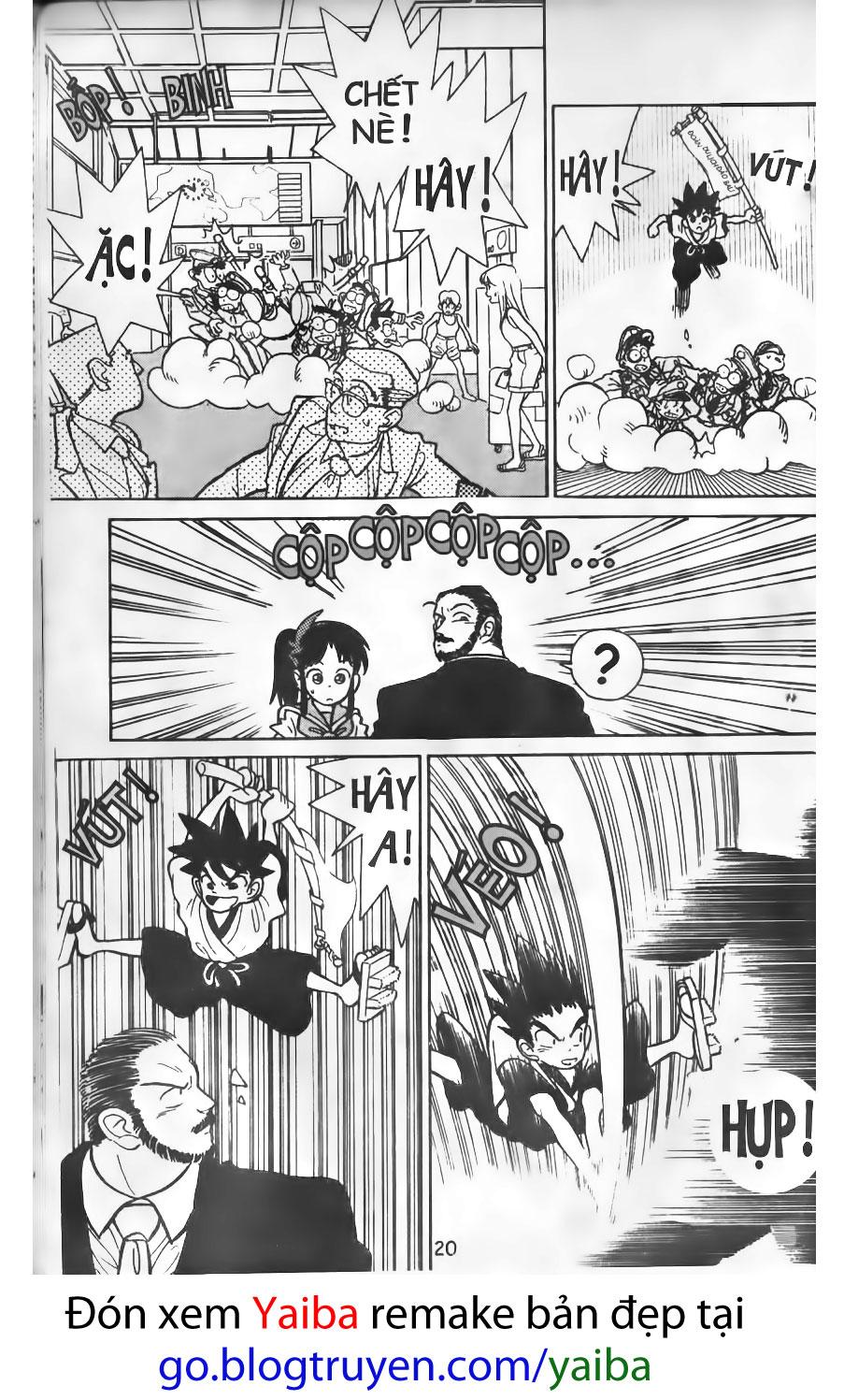 Yaiba chap 1 Trang 17 - Mangak.info