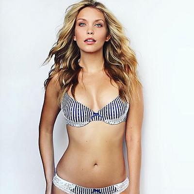 plus-size model Leah Kelley
