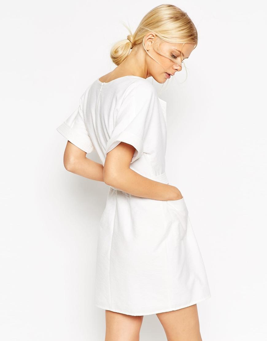 Petite robe blanche pour mariage