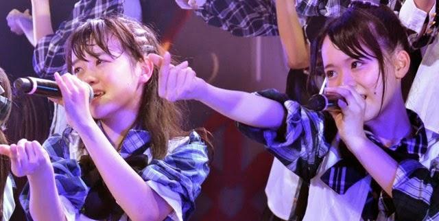 Debut-Anggota-Baru-Tim-8-Lagu-Yogorete-Iru-Shinjitsu