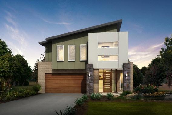 Dise o y planos de casas de dos pisos con ideas para for Frentes de casas de dos pisos pequenas